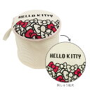 [Hello Kitty(ハローキティ)]キティ ランドリーポーチ(丸型)【下着用 洗濯ネット 旅行用 ランジェリーケース ランジェリーネット ラ..