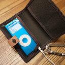 犬印純綿帆布 iPod nanoケース(パスケース)