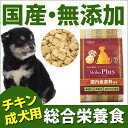 マザープラス ドライフード ドッグフード チキン/成犬用 1kg入 アニマルワン 国産 無添加 自然食品【あす楽対応】