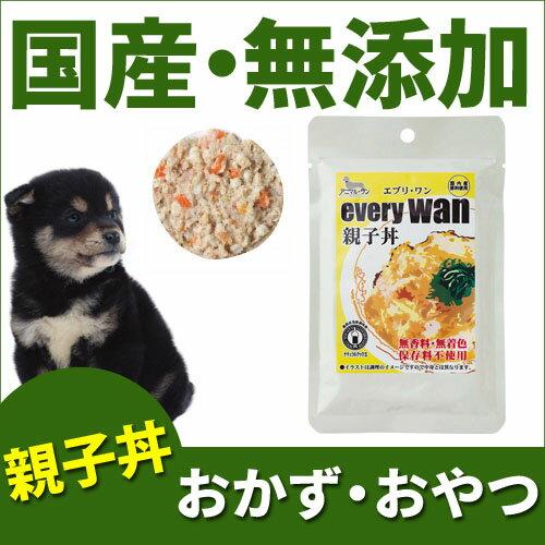 エブリワン(エブリ・ワン)レトルト・ウェットフードドッグフード親子丼/全ステージ対応1パック(60g