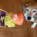 【送料無料】【DUCK ROPE HEAD《PET PALETTE》】ロープのボールのあたま、クチバシにはピーピーの笛入り!投げて噛んで大満足!【犬のおもちゃ】ぬいぐるみ【smtb-MS】