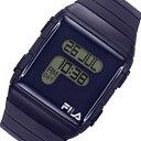 フィラ FILA クオーツ デジタル 腕時計 38-105-003 ネイビー メンズ