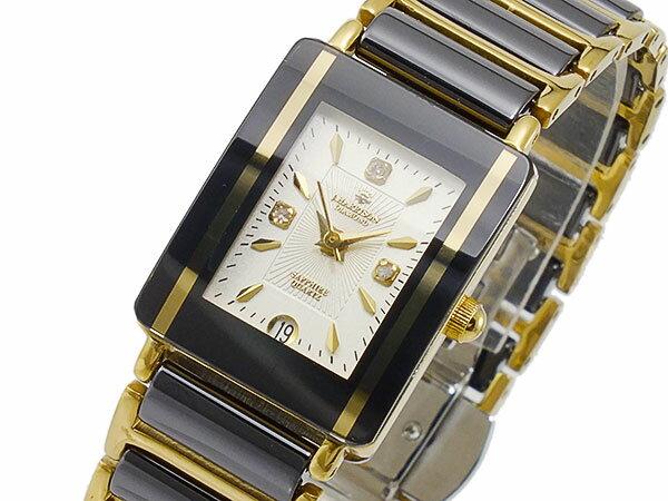 ジョンハリソン JOHN HARRISON クオーツ 腕時計 JH-030LBK レディース ◆ご注文金額10,800円以上で送料無料! ※沖縄・離島を除く【?嬉しい】