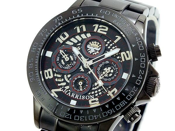 ジョンハリソン JOHN HARRISON 自動巻き 腕時計 JH002-BKRB-N メンズ ◆ご注文金額10,800円以上で送料無料! ※沖縄・離島を除く