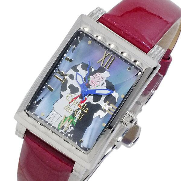 ディズニーウオッチ Disney Watch クルエラ 腕時計 MK1208A レディース