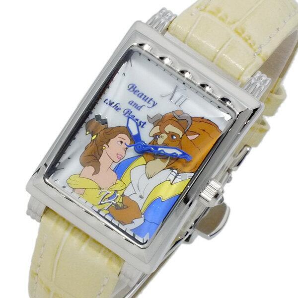 ディズニーウオッチ Disney Watch 美女と野獣 腕時計 MK1208F レディース