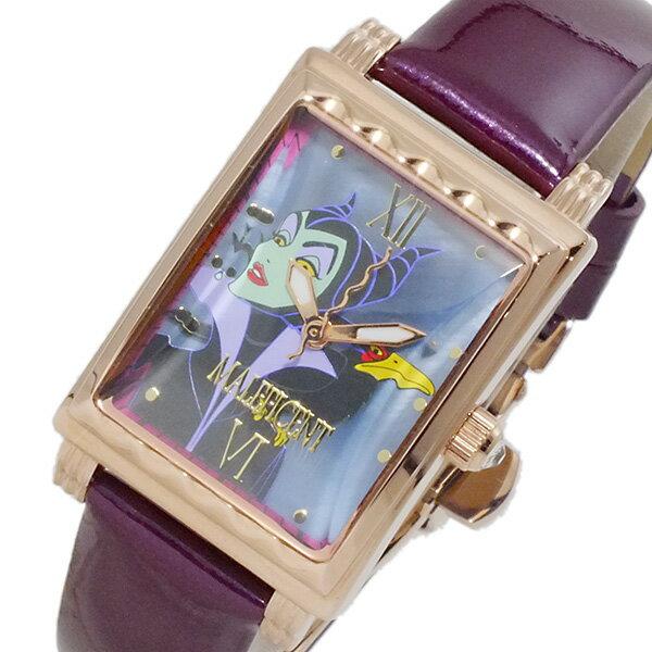 ディズニーウオッチ Disney Watch マレフィセント 腕時計 MK1208J レディース