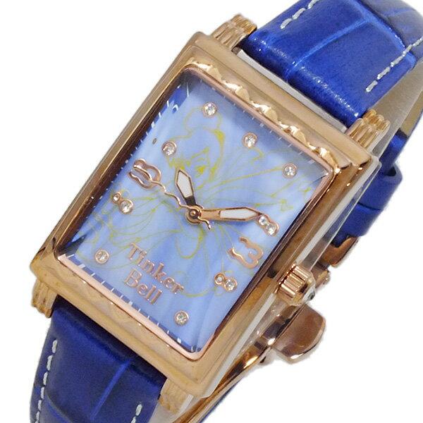 【今月特価】【ポイント10倍】(〜11/30) ディズニーウオッチ Disney Watch ティンカーベル 腕時計 MK1208M レディース 【代引き不可】