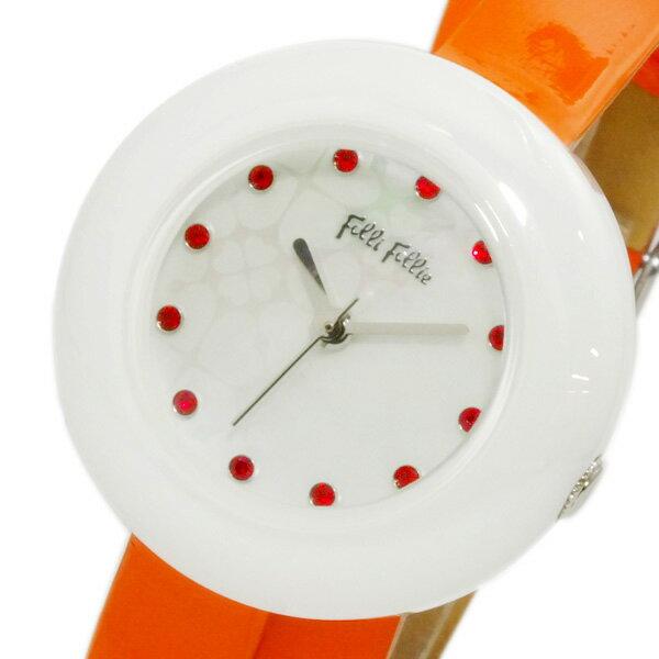 フォリフォリ FOLLI FOLLIE フォーハート 腕時計 WF13F030SSO-OR レディース ●ご注文金額10,800円以上で送料無料! ※沖縄・離島650円