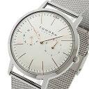 【ポイント10倍】(〜1/10) トモラ TOMORA TOKYO クオーツ 腕時計 T-1603-PWH ホワイト メンズ 02P03Dec16