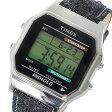 タイメックス TIMEX クラシック デジタル クオーツ 腕時計 TW2P77100 シルバー ユニセックス