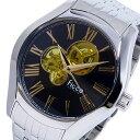 フィッチェ FICCE 自動巻き 腕時計 FC-11080-04 ブラック/イエロー メンズ