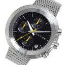 【ポイント5倍】(〜7/31) ピーオーエス POS ヒュッゲ Mesh クオーツ 腕時計 MSM2312CBK ブラック メンズ 02P29Jul16