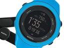 【ポイント5倍】(〜10/31) スント SUUNTO アンビット3 Sport ブルー(HR) 腕時計 SS020679000-J 国内正規 メンズ 【代引き不可】