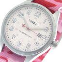 【令和へジャンプxポイントアップ】(4/26 10:00~4/30 23:59)【ポイント2倍】(~4/30 23:59) タイメックス TIMEX 腕時計 T2N350CP ピンク ユニセックス