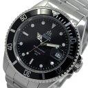 エルジン ELGIN 自動巻き 腕時計 FK1405S-B ブラック メンズ