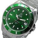 エルジン ELGIN 自動巻き 腕時計 FK1405S-GR グリーン メンズ