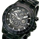 ジョンハリソン JOHN HARRISON 自動巻き 腕時計 JH-002BKBK ブラック メンズ