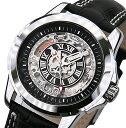 ジョンハリソン JOHN HARRISON 自動巻き 腕時計 JH-037SB スケルトン メンズ