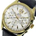 オリエント ORIENT クロノグラフ クオーツ 腕時計 STV01002W0 ホワイト メンズ