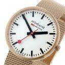 【令和へジャンプxポイントアップ】(4/26 10:00~4/30 23:59)【ポイント2倍】(~4/30 23:59) モンディーン MONDAINE クオーツ 腕時計 A763.30362.22SBM ホワイト レディース