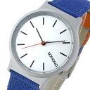 コモノ KOMONO Wizard Heritage-Electric Blue クオーツ 腕時計 KOM-W1360 オフホワイト レディース