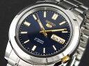 【FCバルセロナシーズン開幕キャンペーン 全ショップポイント3倍×ポイントアップ】 セイコー SEIKO セイコー5 SEIKO 5 自動巻き 腕時計 SNKK11K1 メンズ