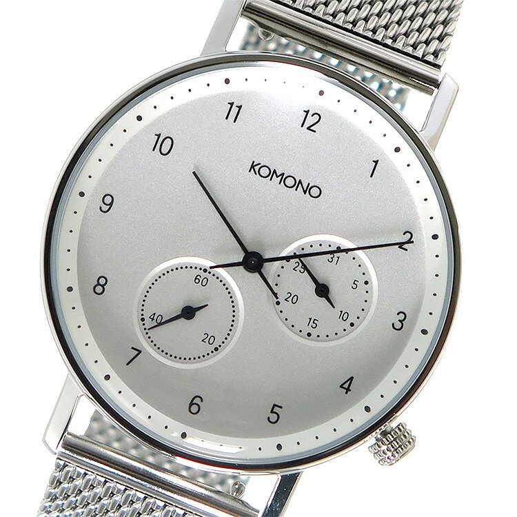 コモノ KOMONO クオーツ 腕時計 KOM-W4020 ホワイト メンズ