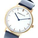 【ポイント2倍】(〜5/31) ROSSLING ロスリング CLASSIC 36MM Navy クオーツ 腕時計 RO-005-011 ネイビー/ホワイト ユニセックス