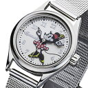 インガソール INGERSOLL ディズニー ミニー クオーツ 腕時計 ZR26524 シルバー レディース