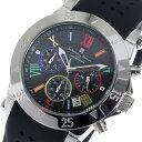 【ポイント5倍】(〜9/30) サルバトーレマーラ Salvatore Marra クロノグラフ クオーツ 腕時計 SM16109-SSBKCL ブラック メンズ