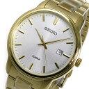 セイコー SEIKO クオーツ 腕時計 SUR198P1 ホワイト メンズ