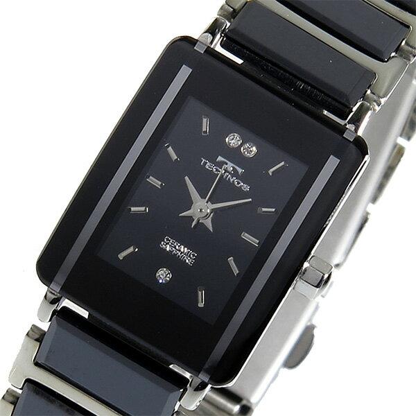テクノス TECHNOS クオーツ 腕時計 TSL906TB ブラック レディース ●ご注文金額10,800円以上で送料無料! ※沖縄・離島650円