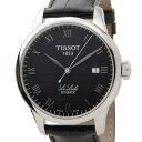 ティソ TISSOT ル・ロックル 自動巻き 腕時計 T41142353 ブラック メンズ 【代引き不可】