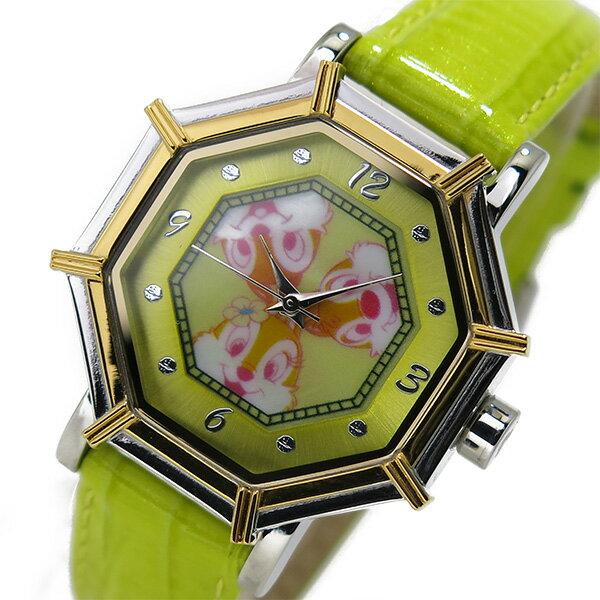 【今月特価】【ポイント10倍】(〜1/31) ディズニーウオッチ Disney Watch 腕時計 1507-CD チップとデール レディース
