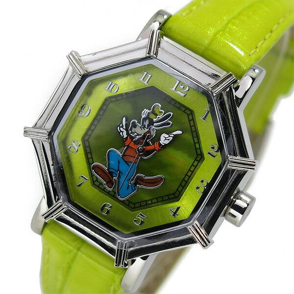 【ポイント10倍】(~3/31) ディズニーウオッチ Disney Watch 腕時計 1507-GF-G グーフィー レディース ☆★☆日本全国どこでも送料無料!!☆★☆※沖縄・離島含む