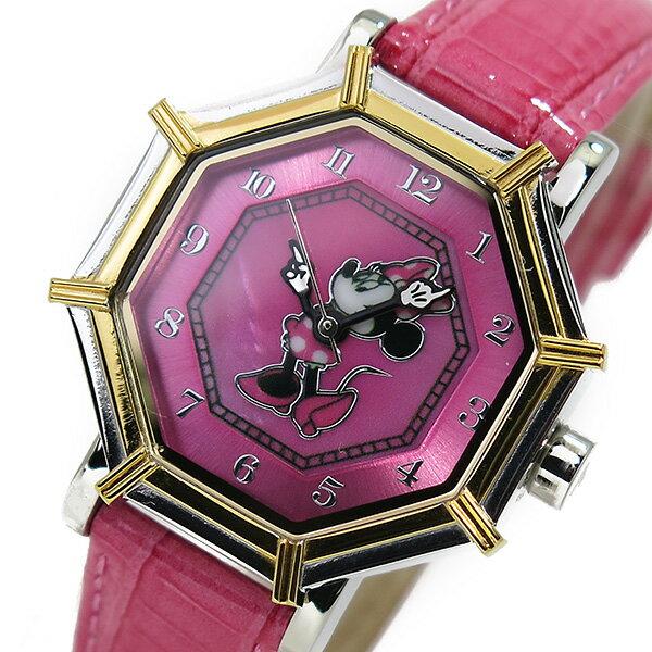 【今月特価】【ポイント10倍】(〜11/30) ディズニーウオッチ Disney Watch 腕時計 1507-MN ミニーマウス レディース