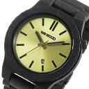 【ポイント5倍】(〜10/31) ウィーウッド WEWOOD 木製 腕時計 ARROW-BLACK-GOLD ゴールド 国内正規 メンズ