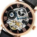 ゾンネ SONNE ハオリ HAORI 自動巻き 腕時計 H013PG ブラック メンズ