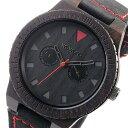 ウィーウッド WEWOOD 木製 腕時計 LEO-TERRA-BLACK ブラック 国内正規 メンズ