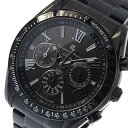【ポイント10倍】(〜9/30) サルバトーレマーラ SALVATORE MARRA ソーラー クロノグラフ 腕時計 SM15116-BKBKSV ブラック メンズ