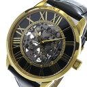 【ポイント10倍】(〜7/31) サルバトーレマーラ SALVATORE MARRA 手巻き 腕時計 SM16101-GDBK ブラック メンズ