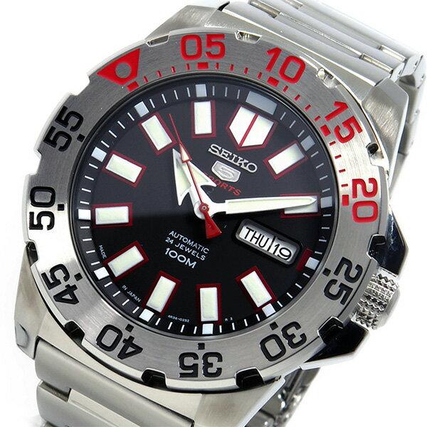 セイコー SEIKO 自動巻き 腕時計 SRP485J1 ブラック メンズ ●ご注文金額10,800円以上で送料無料! ※沖縄・離島650円