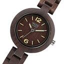 【ポイント5倍】(〜9/30) ウィーウッド WEWOOD 木製 腕時計 MIMOSA-CHOCO チョコ 国内正規 レディース