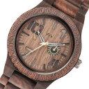 【ポイント10倍】(〜9/30) ウィーウッド WEWOOD 木製 腕時計 OBLIVIO-CHOCO チョコ 国内正規 メンズ