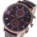 サルバトーレマーラ SALVATORE MARRA クオーツ メンズ 腕時計 SM16105-PGBR ブラウンメンズ
