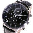 サルバトーレマーラ SALVATORE MARRA クオーツ メンズ 腕時計 SM16105-SSBK ブラックメンズ
