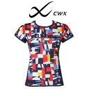 [ワコール]CW-X スポーツアウター トップ Tシャツ-ライトメッシュ-<レディース>DLY531【wcl-cwx-wt】【n】【n07】【p】【】