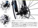 マウンテンバイク 自転車 26インチ 機械式ディスクブレーキ シマノ21段変速MTB クロスバイク ロードタイヤ シマノ シティサイクル 男性 女性 子供 通勤