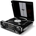 【公式 / 送料無料】ION Audio レコードプレーヤー 1965年製フォード マスタング デザイン 4種再生可能【レコード、ラジオ、USB、外部入力】 Mustang LP